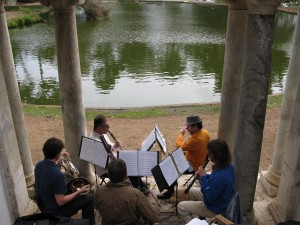 Zaptet Woodwind Quintet Performing at Portal of the Past, Golden Gate Park, San Francisco