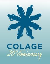 COLAGE 20th Anniversary Logo